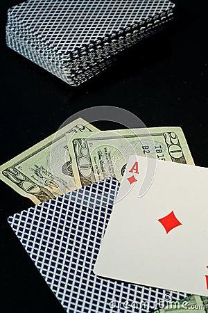Betting It All on Blackjack