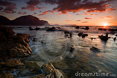 Bettys Bay Sunrise