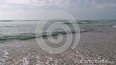 Betydande landskap med eller utan hav lager videofilmer