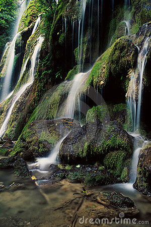 Beu waterfalls, Romania