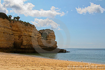 Beutiful Portuguese Algarve beach