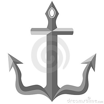 Beveled Metal Anchor