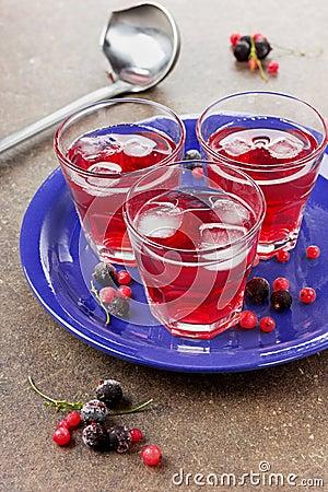Beverage from berries