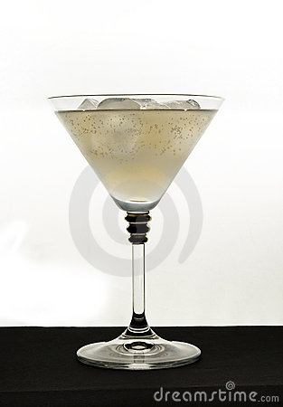 Beverage in glass
