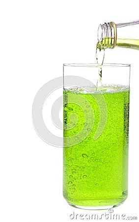 Beverage and goblet