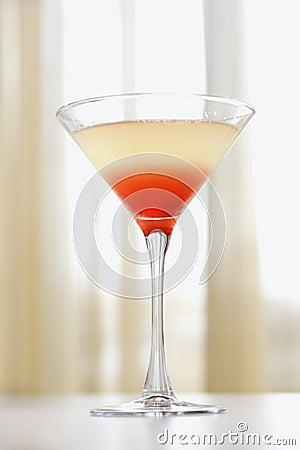 Beverage in Martini Glass