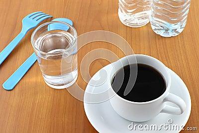 Beverage after meal.