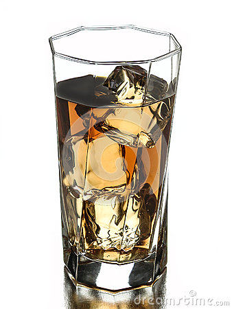 Beverage on the rocks