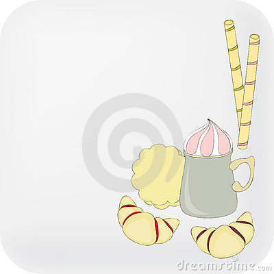 Beverage and sweets