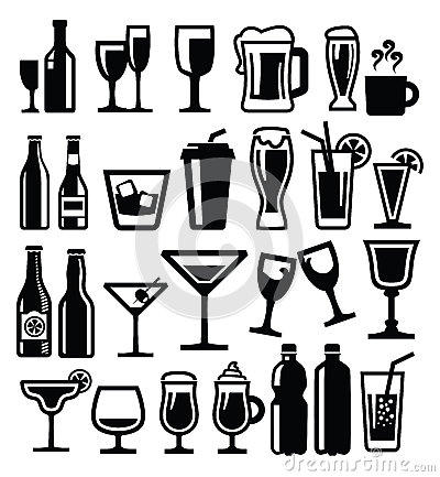 Free Beverages Icon Stock Images - 29028984