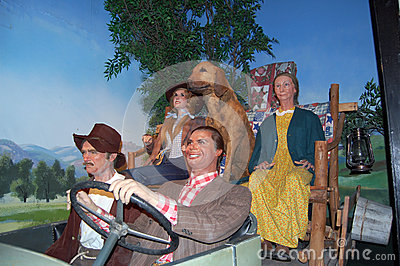 Beverly Hillbillies Editorial Stock Image