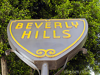 Beverly Hills Editorial Photo
