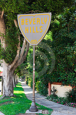 Beverly Hills Editorial Photography