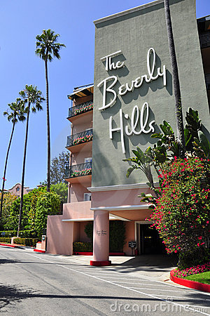 The Beverly Hills Hotel Editorial Image