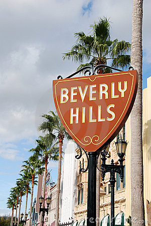Free Beverly Hills Sign Stock Photos - 2891573