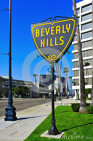 Beverly Hills, United States Editorial Photography