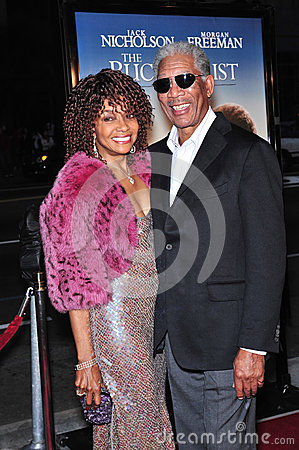 Beverly Todd,Morgan Freeman Editorial Photo
