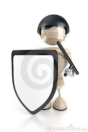 Beväpnad guard