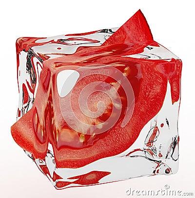 Bevroren tomaat