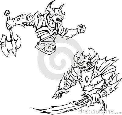 Bewapende monsters