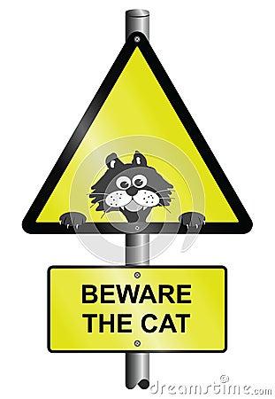 Beware the cat