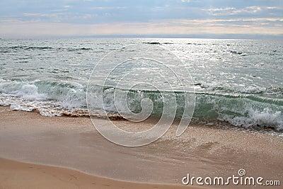 Bewegung des Ozeans