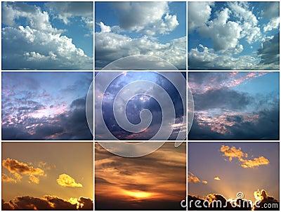 Bewolkte hemelen