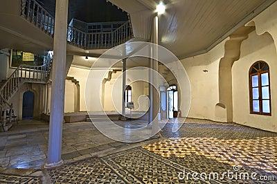Bey hamam bath historic building at Greece