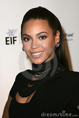 Beyonce Knowles Fotografia Stock Editoriale