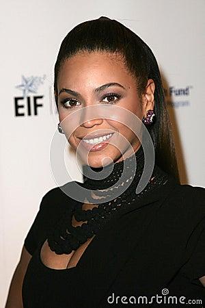 Beyonceknowles Redaktionell Arkivfoto