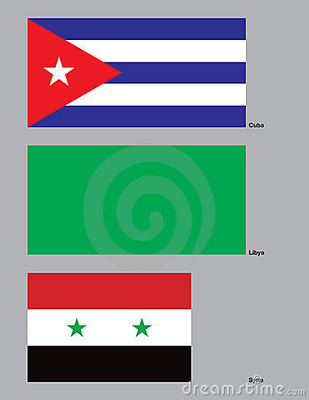Beyond the Axis of Evil Flags