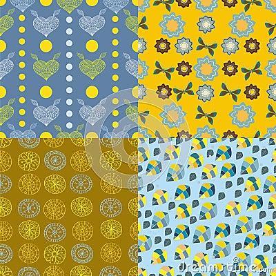 Bezszwowa Kolorowa tło kolekcja