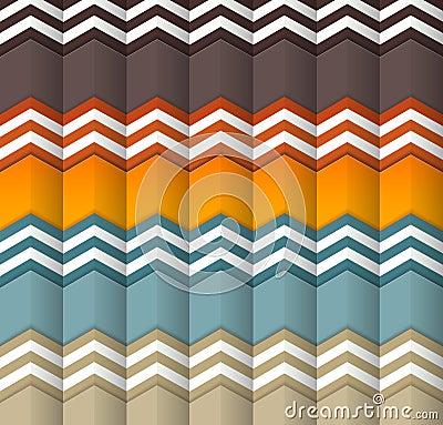 Bezszwowe kolorowe fala dla ogólnoludzkiego użycia.