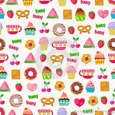 Cukierki wzór
