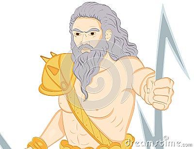 Bóg grecki Zeus