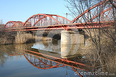 Bügeln Sie Brücke dela Reina Talavera, Toledo, Spanien
