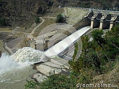 Bhakra dam near Mandi