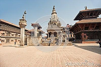 Bhaktapur Durbar Square, Nepal.,temple