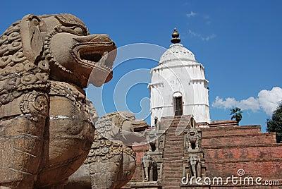 Bhaktapur square -  Nepal Editorial Stock Image