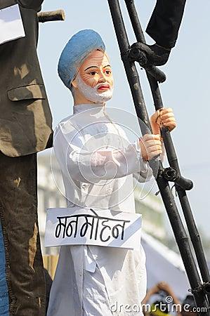 Bhopal agitation. Editorial Photo