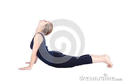 Bhujangasana sixth step of Yoga surya namaskar