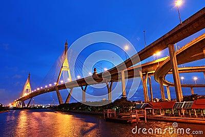Bhumibol桥梁