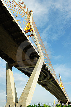 Bhumibol Bridge (the Industrial Ring Road Bridge)