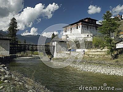 Bhutan - Paro Dzong - Buddhist Monastery