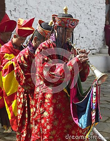 Bhutan - The Paro Tsechu Editorial Photography