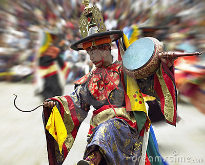 Bhutan - Paro Tsechu Editorial Image
