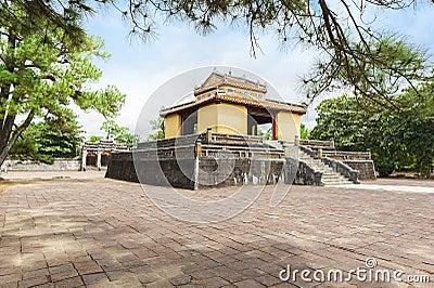 The Bi Dinh - Stele Pavilion - in Minh Mang's Royal Tomb