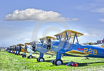Bi-plane Editorial Image
