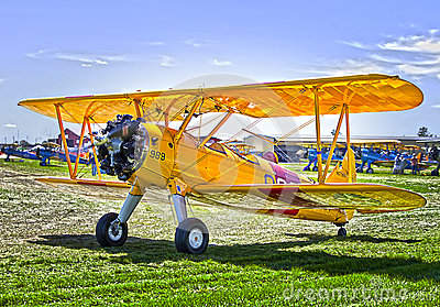 Bi-plane Editorial Stock Image