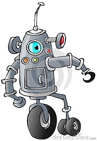 Bi-pod robot